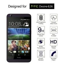 Hard Tough Tempered Glass Screen Protector Screen Guard Shield HTC Desire 626