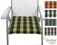 Quadratische Gartenmöbel-Auflagen für 2-Sitzer-Bank/- Hollywoodschaukel