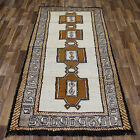 FINE PERSIAN GABBEH TRIBAL RUG 220 x 110 CM HAND KNOTTED ORIENTAL RUG