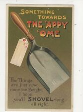 Something Towards The Appy Ome Shovel [E306] 1910 Comic Postcard Birn Bros 253b