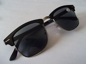 CE +1.25 DESIGNER EYE-LEVEL UNISEX Reading Sunglasses Sun Readers BLACK & case