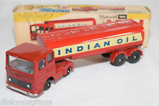 MAXWELL INDIA 565 TRUCK WITH TRAILER TANKER INDIAN OIL N MINT BOXED RARE SELTEN