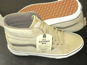Vans Men's Sk8-Hi MTE All Weather Suede Boots Starfish Mojave Desert Size 13 NWT