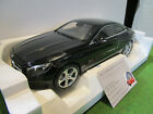 MERCEDES S-CLASS coupé de 2014 noir au 1/18 NOREV 183482 voiture miniature