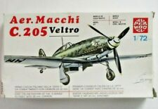 Supermold 1/72nd Scale Aer.Macchi C.205 Veltro Kit No. 10-013 in Open Box!