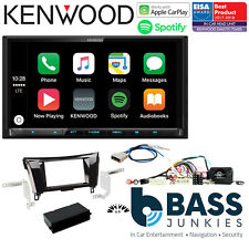 "Nissan Qashqai 2014 On Kenwood Mechless 7"" DAB Bluetooth CarPlay Car Stereo Kit"