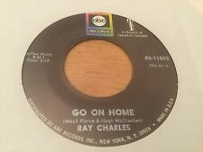 RAY CHARLES~ GO ON HOME  ABC 11045 ~GREAT MOD DANCER