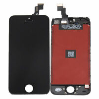 DISPLAY LCD+TOUCH SCREEN per APPLE IPHONE 5C VETRO RETINA NERO A1456 A1507 A1516
