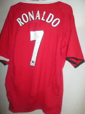 Manchester United 2004-2006 Casa Cristiano Ronaldo Futbol camisa tamaño XL 21837