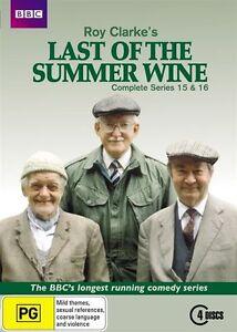 Last Of The Summer Wine : Series 15-16 (DVD, 2012, 4-Disc Set)