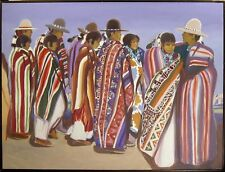 Edward Walker Signed Original Oil Painting on Canvas, Make An Offer!