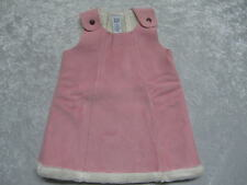 Baby Gap Pink Faux Suede Dress, XL (18-24 mos)