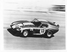 1965 Shelby Cobra Daytona Racecar #13 Factory Photograph (Ref. # 75002)