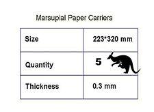 Feuille A4 PAPIER transporteurs 5 pochettes de pelliculage feuilles transporteur pour aider à arrêter jamming