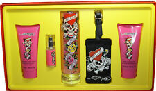 ED HARDY BY ED HARDY 5PCS GIFT SET FOR WOMEN NEW IN BOX