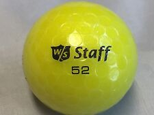 36 Wilson Staff Yellow Mix AAAA/AAAAA Golf Balls Free Tees