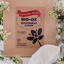 Bio-Oz Buckwheat Flour GF 4.7kg Australian grown Freight Free