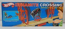 NEW SEALED Hot Wheels Mattel Dynamite Crossing Action Play Set VAN Included TOY