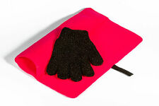 Mateque Pink Heatproof Travel Mat with Mateque Heat Resistant Glove For C9 GHD