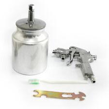 2.5mm Fluid Tip HVLP Gravity Feed Spray Gun Regulator 1/4 Air Inlet Tool 1000cc