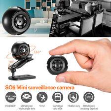 Mini IP Camera Hidden DVR HD 1080P Cam Indoor/Outdoor Home Security Night Vision