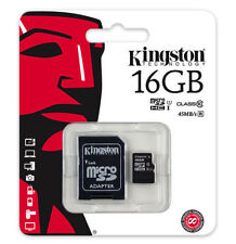MicroSDHC 16GB Camera Memory Cards for GoPro