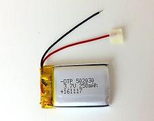 502030 3.7 Volt 250 mAh Lipo Ersatzakku für ebike-Display BOSCH Intuvia Batterie