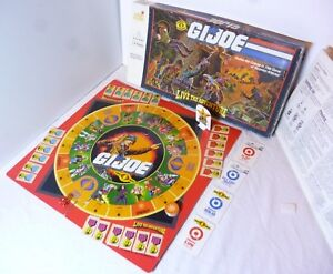 Gi Joe Action Force Board Game Vintage 1986 2 - 4 players Great Games