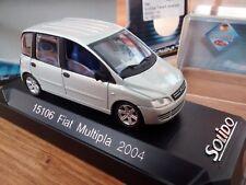 FIAT MULTIPLA 2004 RESTYLING SOLIDO 1/43 CON CAJA ORIGINAL