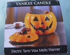 Yankee Candle Electric Tarts Wax Melt Jack O Lantern Melter NIB