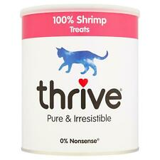 thrive Cat 100% Shrimp Treats Snack MaxiTube 110g Real Natural Freeze Dried Fish