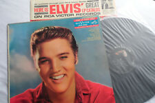 ELVIS__Original 1959__1st Press__For LP Fans Only__Long Play__MONO__LPM-1990__EX