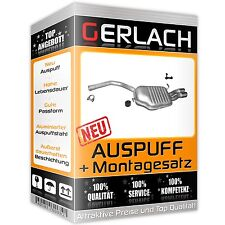 Endschalldämpfer für Audi A4 1.9 2.0 TDi Stufenheck Kombi Avant 04-08 *4556