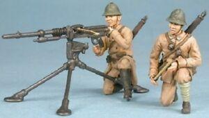 Master Fighter 1:48 French Hotchkiss Heavy Machine Gun and Crew, #MF48004