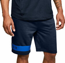 Under Armour MK1 Terry Mens Training Shorts - Navy