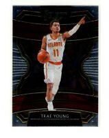 2019-20 Panini Select Basketball Concourse Base Card #33 Trae Young Hawks