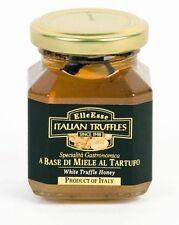 TRÜFFEL HONIG Trüffelhonig Miele tartufo Bianco 130g Glas weiße Trüffel Italien
