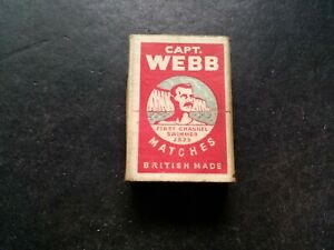 Vintage Capt Webb Bryant And May, Empty Match Box.