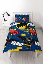 Lego Batman Movie 'hero' Housse de couette Imprimé Motif Repeat