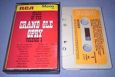 V/A STARS OF THE GRAND OLE OPRY VOL 1 PAPER LABELS cassette tape album T2318