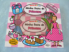 2012 Priddy Press Minha Festa de Princesa Board Book (Princess Party Set)