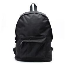 Herren Schultertasche Rucksack Freizeittasche Sport Schultasche schwarz