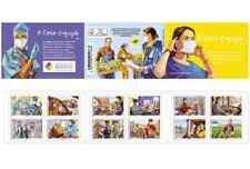 France - 1 carnet de timbres  12 pcs neufs  2020 Tous Engagés
