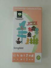 PROVOCRAFT CRICUT CARTRIDGE SONGBIRD 2000063 NIP 2009 RETIRED RARE HTF