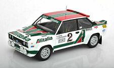 1:18 IXO Fiat 131 Abarth 1978 Monte Carlo Rallye Rohrl / Geistdorfer RMC009