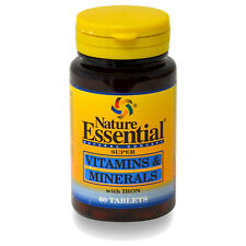 Nature Essential vitaminas y minerales 60comp