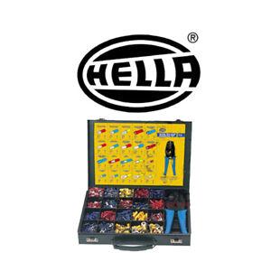 1000pce Crimp Terminal Connector Kit With Crimper HELLA