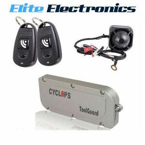 ToolGuard Cyclops TG-5000 Tool Box Toolbox Alarm with Remote & Siren