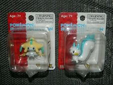 Rare Sealed 2007 Nintendo Pokemon TOMY Figures JIRACHI and PACHIRISU New