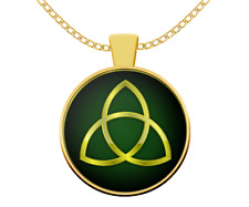 Celtic Norse mythology Wicca gift Triquetra necklace - trinity symbol Pagan